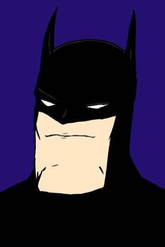 Batman Coloured