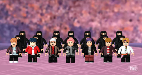 BTS Not today LEGO