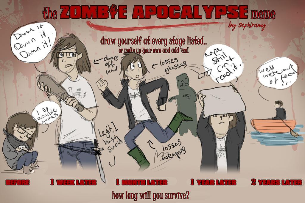 Zombie Apocalypse Meme Funny : Zombie apocalypse meme by ybo on deviantart