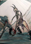 Battling the Witchmen