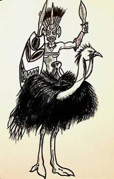 Bird Rider of Iforne'