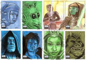 Topps Star Wars Galaxy 6 - 7 by RachelKaiser