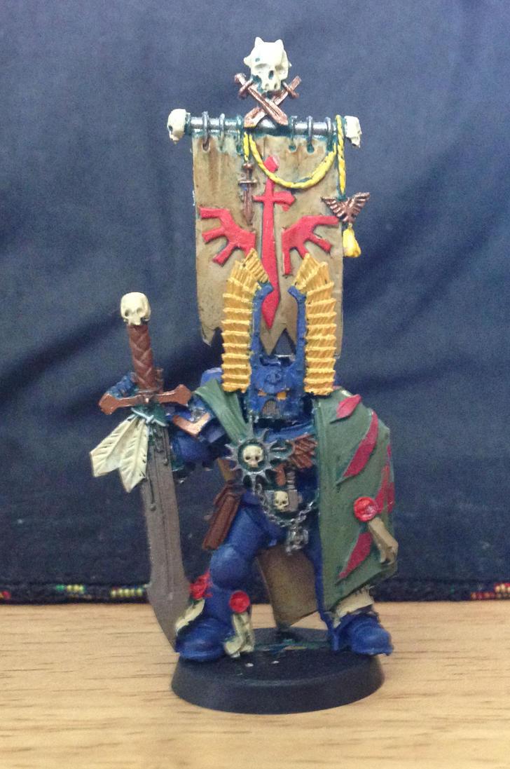 Space Marine Captain 1 - Angels Ultima by Strumwulf