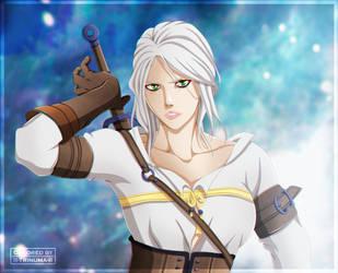 The Witcher - Zirael by II-Trinuma-II