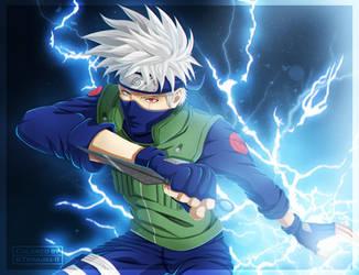 Naruto - Kakashi Hatake [Coloring] by II-Trinuma-II