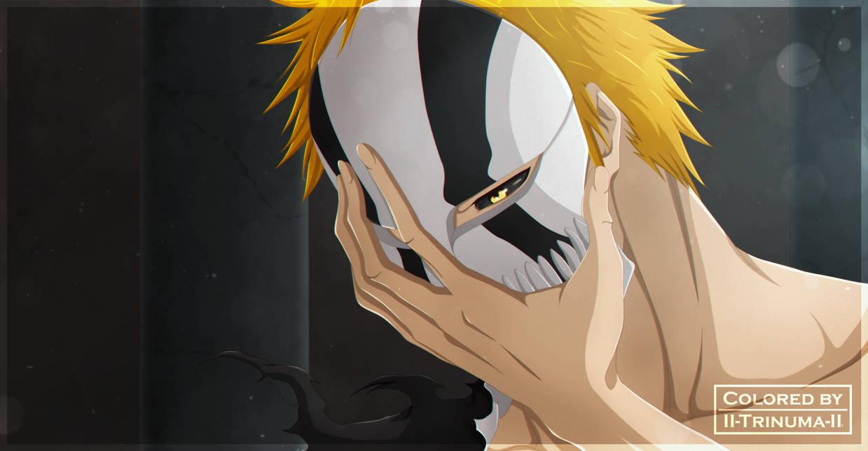 Kurosaki Ichigo - Hollow Mask by II-Trinuma-II