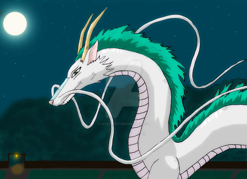 Spirited Away - Haku Dragon by lexxy-kitty on DeviantArt