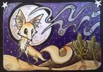 ACEO: Desert Fox