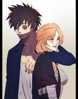 Dabi and Riikou by Orangenbluete