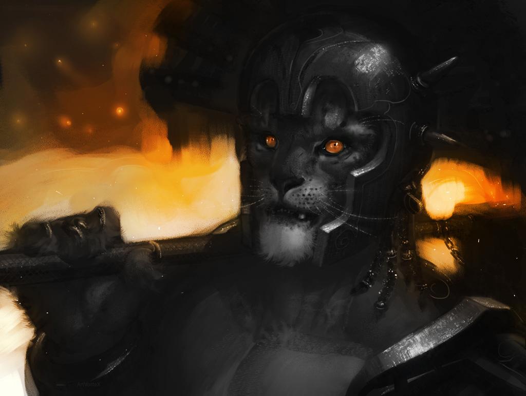 Warrior by ArtVorteX