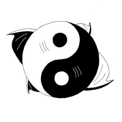 fish yin yang by nourasiadragon on deviantart. Black Bedroom Furniture Sets. Home Design Ideas