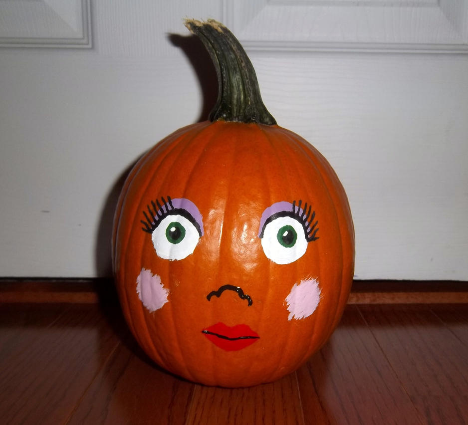 Pumpkin by hermionefrost on deviantart for Surprised pumpkin face