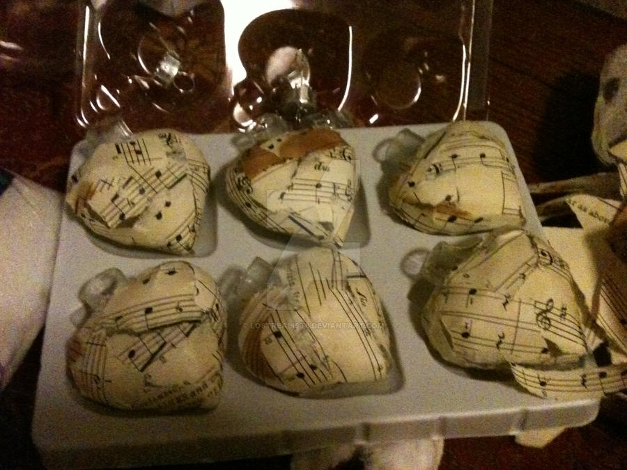 Musical note christmas ornaments. by lostrealist6 on DeviantArt