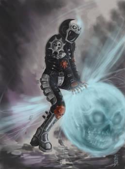 Powered Akira speed painting