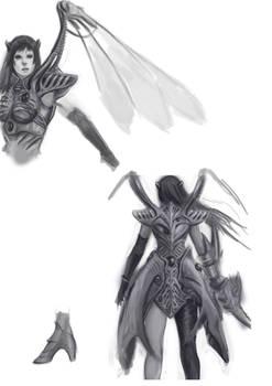 Rose lod2 armor concept