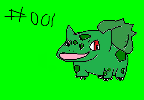 p0k3m0ng #001 Bulbasaur by CorkyDaddy
