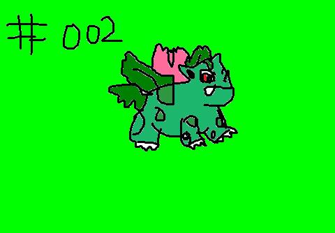 p0k3m0ng #002 Ivysaur by CorkyDaddy