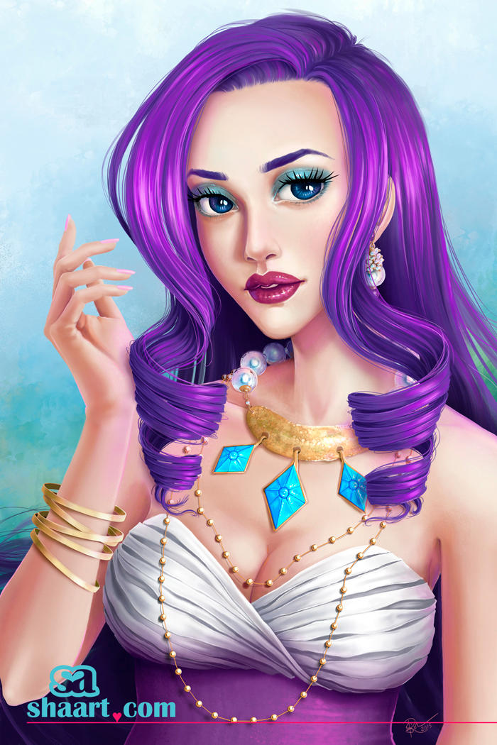 Rarity - Human Form - The Diva
