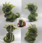 Faux Jade Baby Dragon