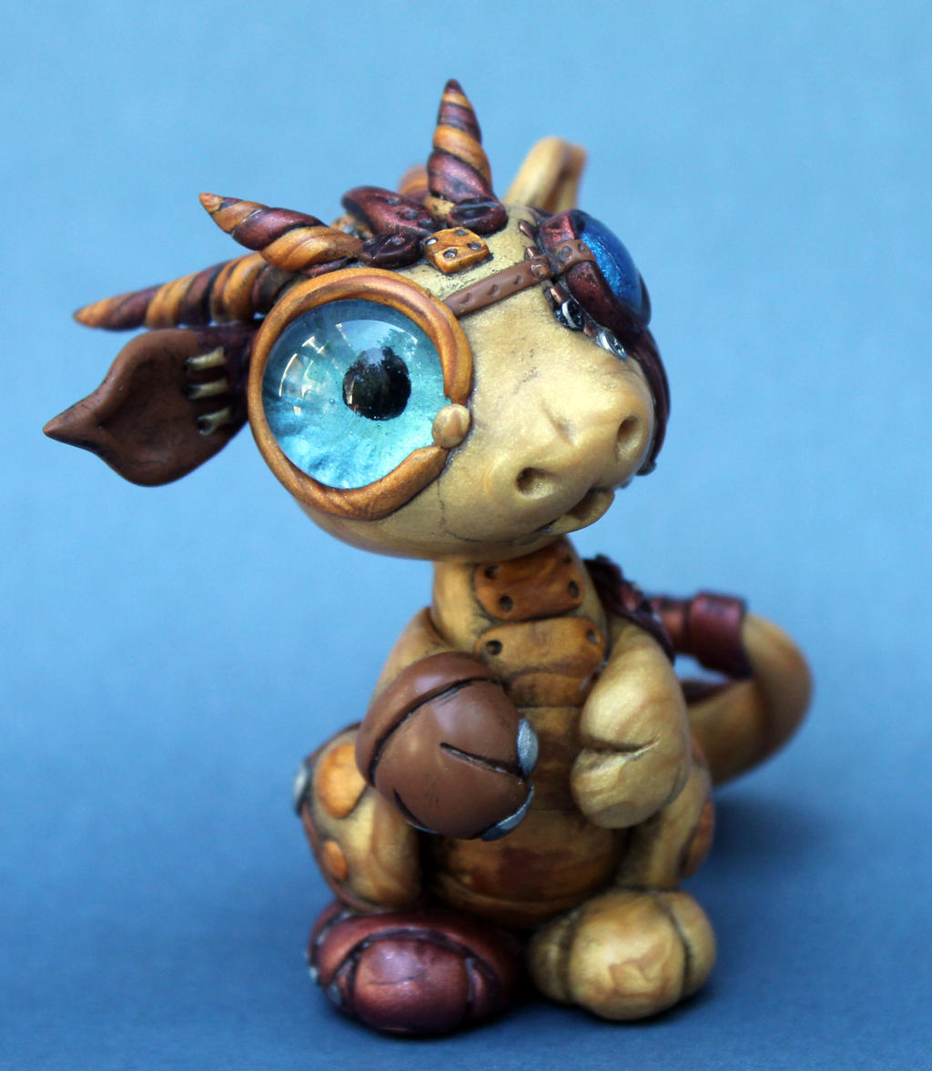 Mr steampunk dragon by bittybiteyones on deviantart for Steampunk arts and crafts