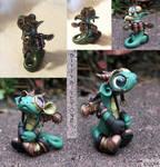 Steampunk-collage