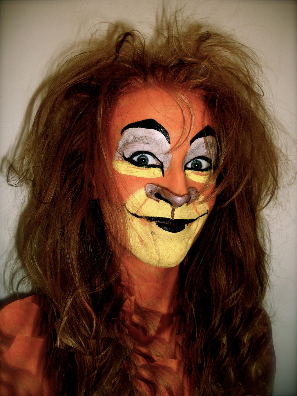 Lion Face Makeup Lion King Face Paint