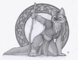 Druid Sketch by 5hape5hifter