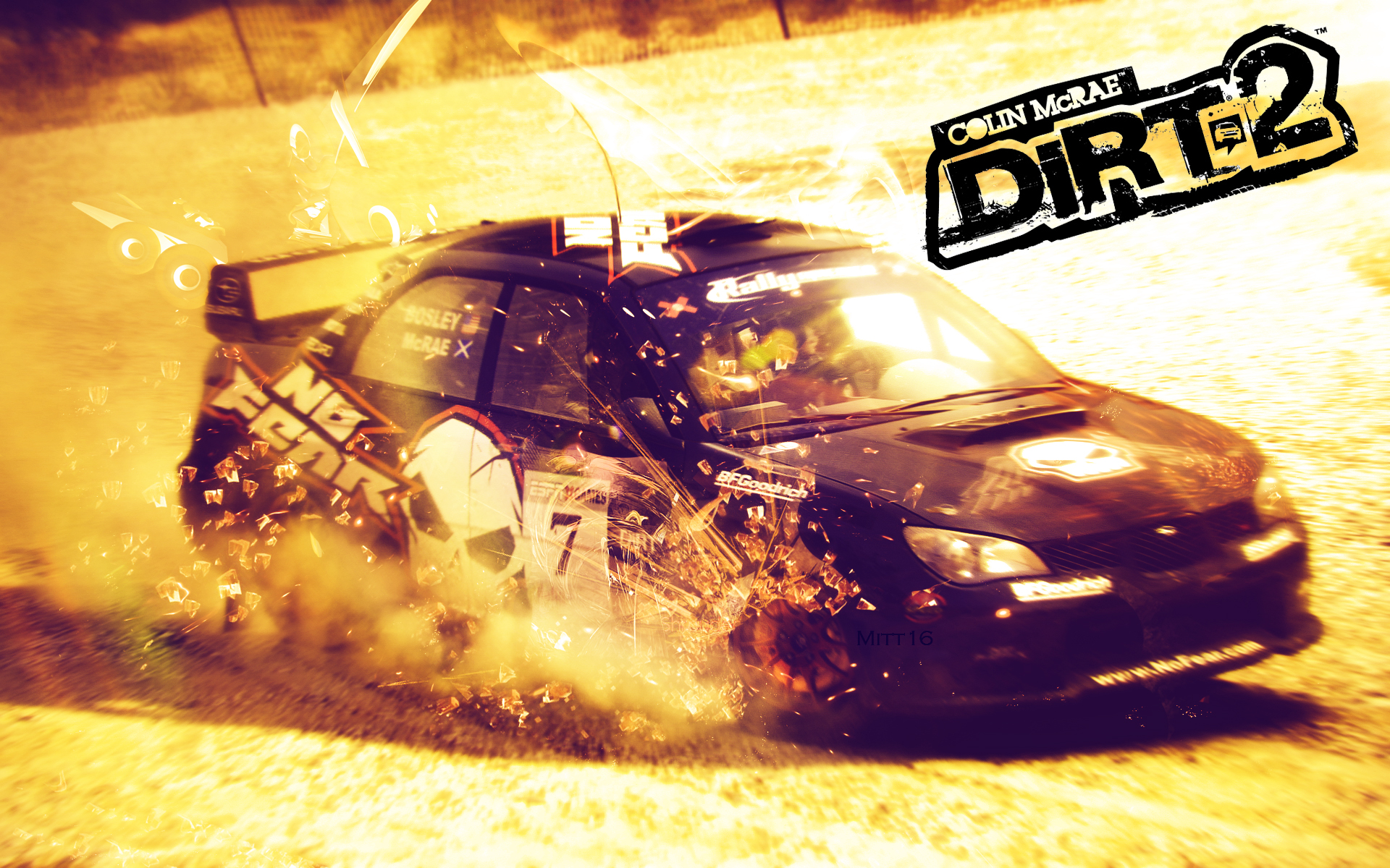 Wallpaper Colin McRae DiRT 2 by Schmitt-mitt on deviantART