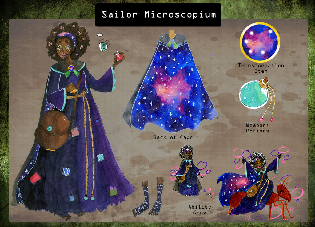 Sailor Microscopium