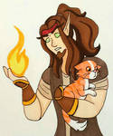 The Mage And The Cat