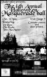 Shadowplay Hallowe'en poster