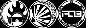 Sticker Trifecta by shadezero