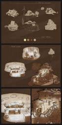 Rural architecture concepts - PART1 by ignilibrium
