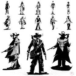 The gentleman character thumbnails