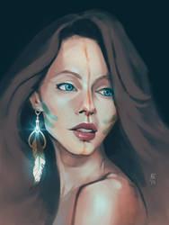 Character portrait.