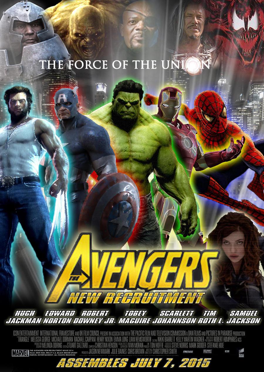 the avengers 2 fan poster by alecx8 on deviantart