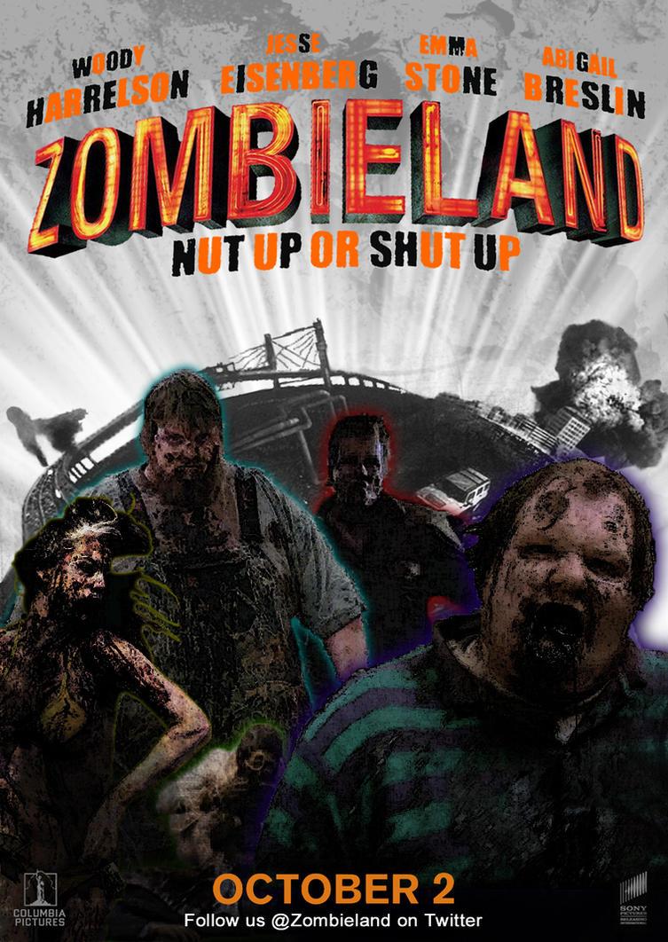 Zombieland 2nd fan poster by alecx8 on deviantart