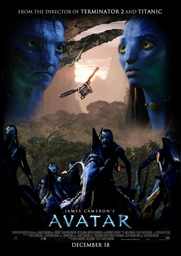 Avatar Poster by Alecx8 on DeviantArt: alecx8.deviantart.com/art/Avatar-Poster-150663985