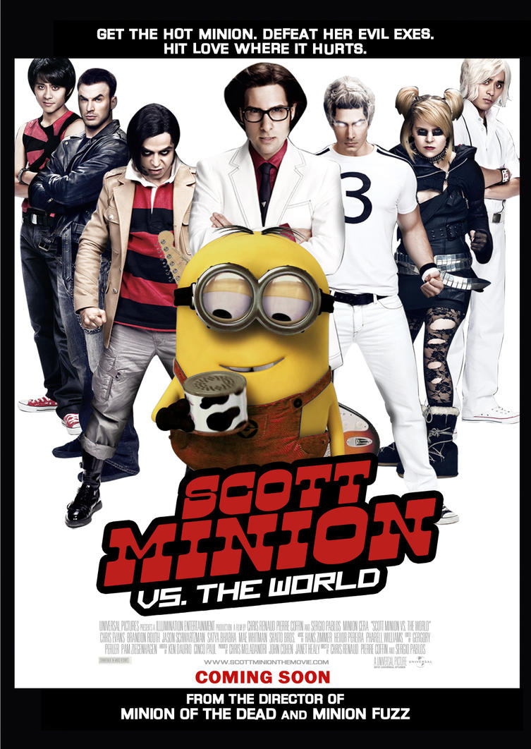 Scott Minion vs World Poster by Alecx8