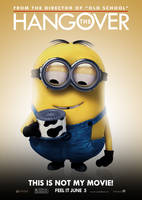The Hangover Poster - Minion by Alecx8