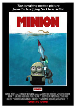 Minion - Jaws Poster