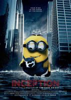 Inception Poster - Minion by Alecx8