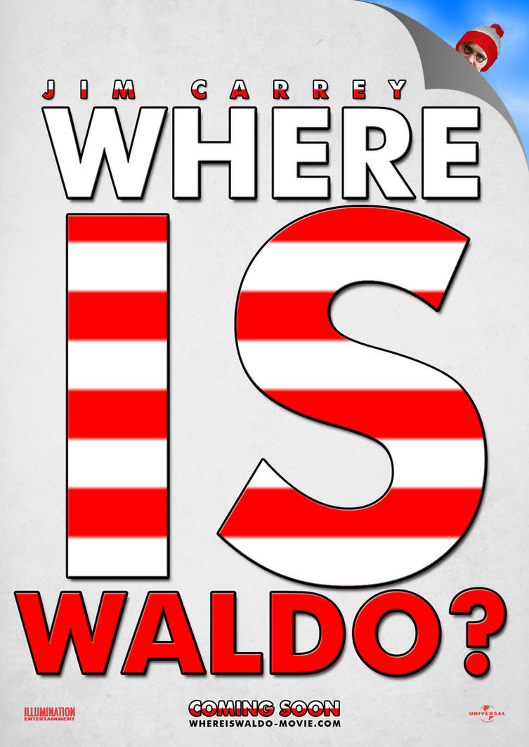 Where is Waldo? Poster by Alecx8 on DeviantArt
