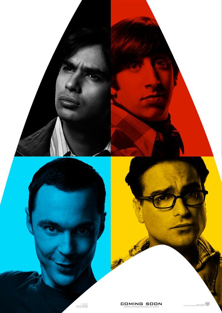 Big Bang Theory - Star Trek P2 by Alecx8