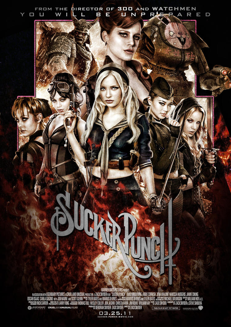 Sucker Punch III-V2 by Alecx8