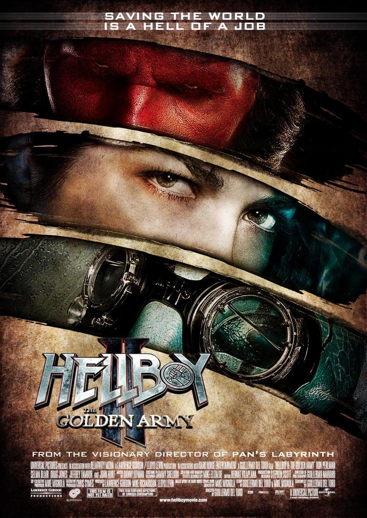 hellboy golden army movie poster wwwpixsharkcom