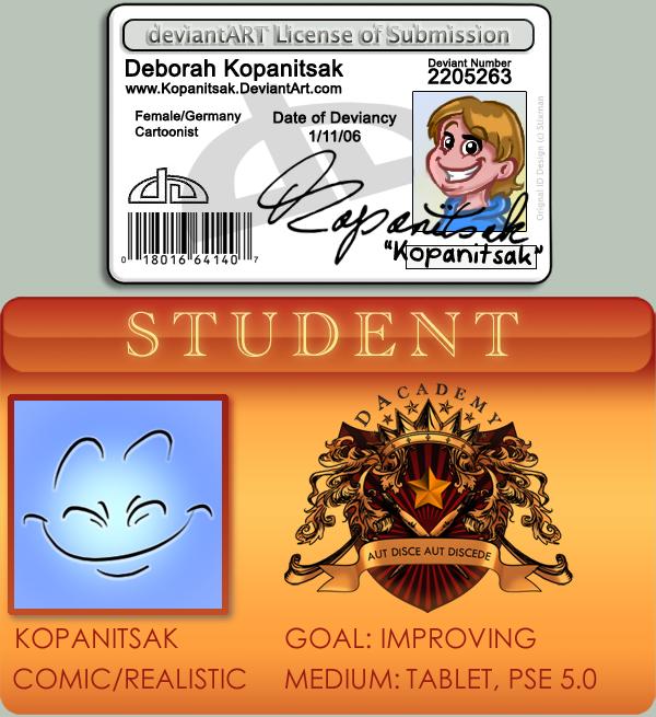 DA and DArcad Student Licence by Kopanitsak
