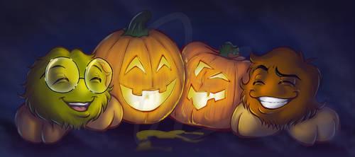 Crafting for Halloween by Kopanitsak