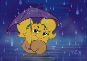 Mi with Umbrella
