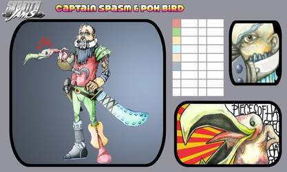 Captain Spasm and POH Bird